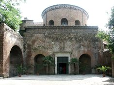 Santa Constanza, mausoleum converted to church in 1256  Rome  350 CE