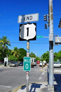 Mile 0 - Key West, FL I want a picture of this sign