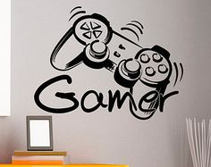 Wall Decal Game Zone Wall Decals Vinyl Stickers by FabWallDecals