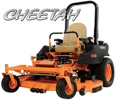 Scag Cheetah Zero Turn great mower