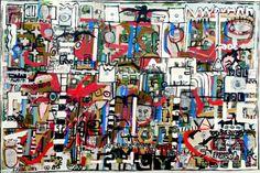 "Saatchi Art Artist Jonas Fisch; Painting, ""Components of Pollution"" #art"