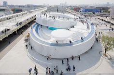 Pavilhão Danes, Expo Shanghai 2010. Imagem © Iwan Baan