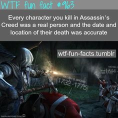 assassin creed - gaming facts  MORE OF WTF-FUN-FACTS are coming HERE  funny and weird facts ONLY