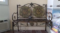 Iron Ornate Bench - $79.00 Sold!!