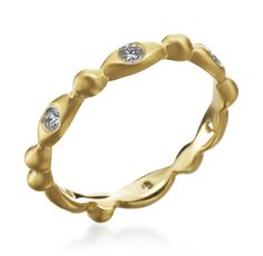 18K Yellow Gold Dia. Oval Design Ring