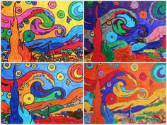 Free variations for Van Gogh and Gauguin