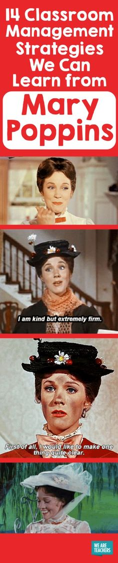 14 Classroom Management Strategies We Can Learn from Mary Poppins