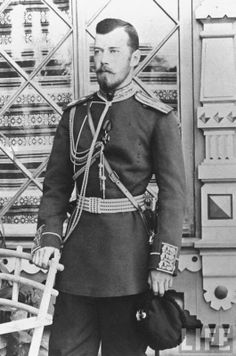 young Nicholas II of Russia...wow, so handsome.
