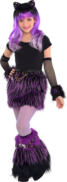 Monster High Catty Noir Costume   halloweenideasforwomen - halloween costumes for girls ideas