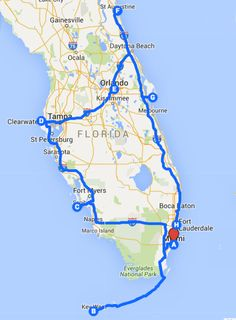 Florida Road Trip Map Uncover the perfect Florida Road Trip! Let me show you the best road trip itinerary for a Florida road trip, the best destinations and where to stay. Road Trip Florida, Road Trip Map, Road Trip Destinations, Visit Florida, Road Trip Hacks, Florida Vacation, Florida Travel, Florida Beaches, Road Trips