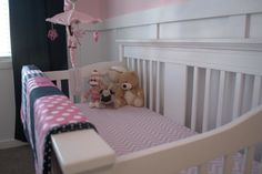Baby Girl Nautical Bedding | Project For: Our Daughter Age: Due Date March 2014 Location: Airdrie ...