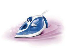 Ferro a Vapor Philips Walita EasySpeed Plus RI2047 - Azul e Branco com Cirta Pingos com as melhores condições você encontra no Magazine Jsantos. Confira!