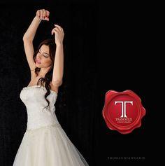 Wedding dress by Tranoulis Haute Couture Photo: Thomas Giannakis Model: Eirini Sterianou Wedding Dresses, Model, Haute Couture, Mathematical Model, Bridal Dresses, Alon Livne Wedding Dresses, Weeding Dresses, Bridal Gown