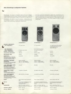 Hi Gents, I found a pair of Altec High Transducer, I dont have the general specs. Number is That HF is used in the Altec Stonehenge I. Altec Lansing, Audio Design, Stonehenge, Loudspeaker, Ancient Civilizations, Apple Tv, Remote, Speakers, Theater