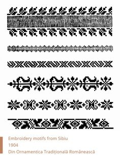 Folk Embroidery, Cross Stitching, Romania, Needlework, Diy And Crafts, Projects To Try, Knowledge, Traditional, Mariana