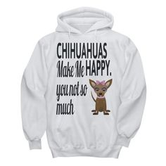 https://www.dailyoffersandsteals.com/products/chihuahua-make-me-happy-custom-pullover-hoodie-design  Anyone who owns a Chihuahua can tell you, a Chihuahua is not a dog, it is a small, fur-covered baby. Wear your favorite Chihuahua custom pullover hoodie design on your chest. This high-quality, Chihuahua inspired custom hoodie for men and women can be worn for any occasion.