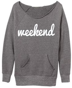 Need this Ily Couture Weekend Eco Grey Sweatshirt before the weekend comes around! Get it now on ShopStyle.