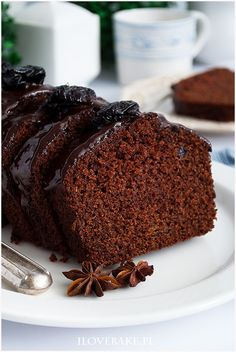 Błyskawiczny piernik - I Love Bake Sweet Desserts, Sweet Recipes, Cake Recipes, Dessert Recipes, Polish Recipes, Vegan Cake, Chocolate Desserts, Coffee Cake, Cake Cookies