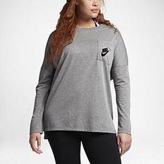 Nike Sportswear Signal (Plus Size) Women's Long Sleeve Top