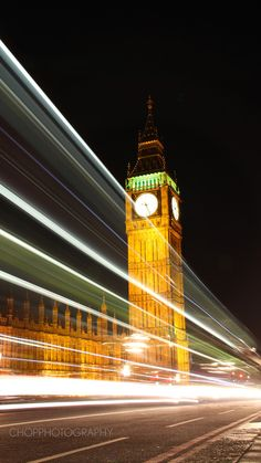 The Clock Tower, London by Bazil (Chopper) Diprose on 500px