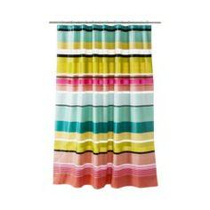 Room Essentials® Peva Stripe Warm Shower Curtain