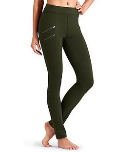 Size XS $79. Earthy Dark green.. trying a new color? Twill Moto Pant - We all love a moto-inspired look, especially in menswear-inspired twill fabric with flattering skinny legs.