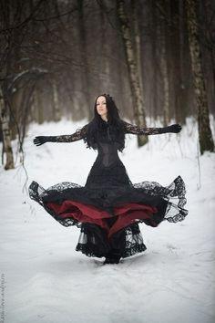 Dark Beauty, Goth Beauty, Gothic Dress, Gothic Outfits, Gothic Lolita, Dark Fashion, Gothic Fashion, Emo Fashion, Gothic People