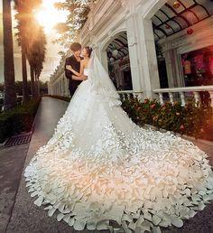 krean wedding dresses patterns