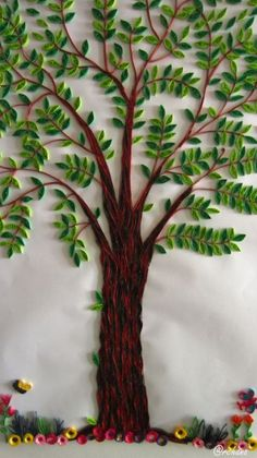 My quilled tree   Quilling   Pinterest