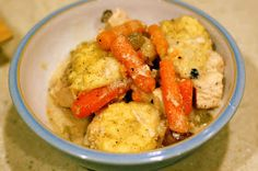 Dinner with Danielle: Slow Cooker Chicken & Dumplings {9 WW+ Dinner}