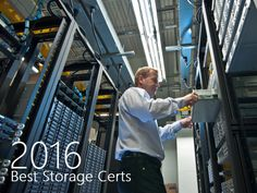 These storage certifications are in demand in 2016. Find the most valuable storage certification for your career path on Tom's IT Pro.