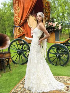 ROMANTIC RUSTIC SHABBY CHIC WEDDING GOWN - Google Search
