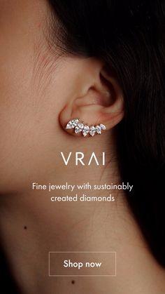 Ear Jewelry, Cute Jewelry, Body Jewelry, Jewlery, Jewelry Accessories, Jewelry Design, Bridal Earrings, Wedding Jewelry, Ring Stores
