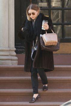 Эшли Олсен в Нью-Йорке