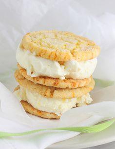 lemon ice cream sandwich cookies