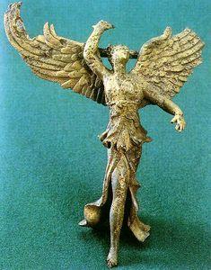 Colchis-Nike - Nike (mythology) statuette of the goddess Nike found in Vani, Georgia - Wikipedia, the free encyclopedia