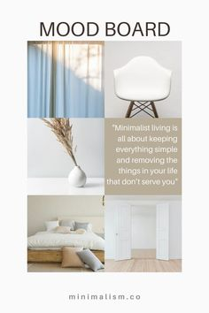 Minimalist home inspiration. Check more guides at minimalism.co to learn more about the benefits of having a minimalist living space. Minimalist Living Tips, Becoming Minimalist, Minimalist House Design, Minimalist Kitchen, Minimal Design, Declutter Your Home, Home Trends, Create Space, Sustainable Living