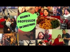 Became a Professor on Christmas!