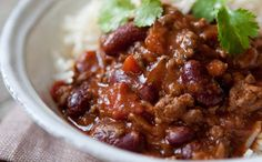 Hairy Bikers Diet Club low calorie Chilli Con Carne: