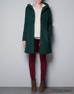 пальто зеленое - Поиск в Google