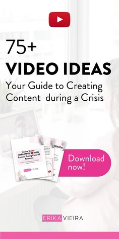 In this episode, I'm going to go over exactly how you should be creating content during this global pandemic. How should we best use this time? Download my free e-book with video ideas for this period. Erika Vieira, The YouTube Power Hour Podcast #ErikaVieira #TheYouTubePowerHourPodcast Great Videos, You Youtube, Erika, Instagram Story, Believe, Knowledge, How To Get, Content, Create