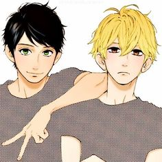 Hirunaka no Ryuusei Manga Love, I Love Anime, Awesome Anime, Cute Anime Boy, Hot Anime Guys, Manhwa Manga, Manga Anime, Daytime Shooting Star, Shooting Stars