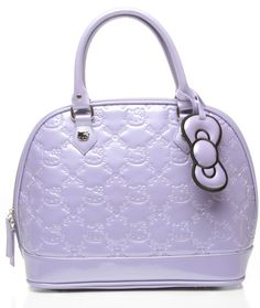 Hello Kitty Patent Embossed bag $70