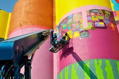 Image result for 3d wall painting Gemeos