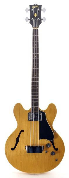 Gibson EB-2 Natural 1969 | Chicago Music Exchange