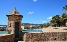 Blick von der Es Baluard Festung in Palma de Mallorca