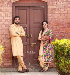 Gur Sikh Wedding, Punjabi Wedding, Wedding Couples, Sweet Couples, Cute Couples, Salwar Kameez, Kurti, Couple Photography, Wedding Photography