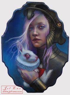 Alice and the White Rabbit  -  Jel Ena