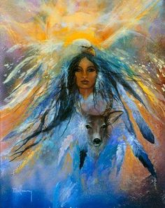 We are all born with the capacity to dream and to have vision. This is what makes us humans, the animals who can have vision and seek to fulfill it on the earth plane. This is what makes us reflections of the force that created us all. -- The Medicine Wheel Earth Astrology by Sun Bear and Wabun (Image: Delmary Dennis)