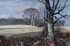 Rowland Hilder (1905-1993). Shoreham in Kent.
